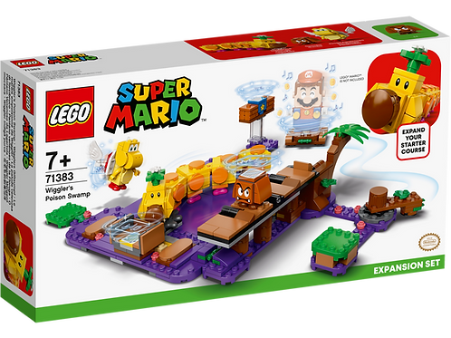 LEGO SUPER MARIO 71383 Wigglers Poison Swamp Expansion Set
