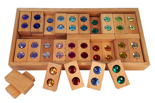 Bauspiel Color Track 45 pcs