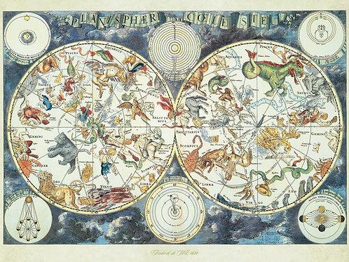 Ravensburger World Map 1500pc Jigsaw Puzzle