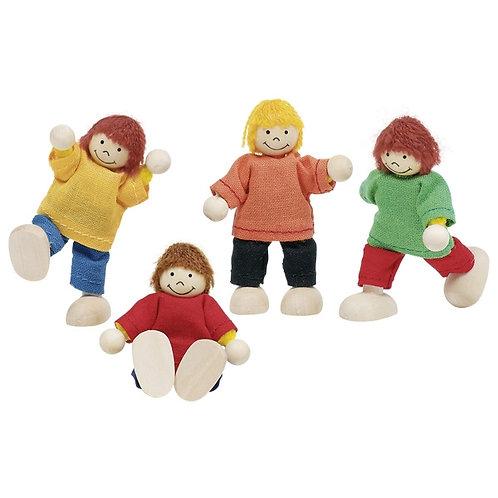 Goki Flexible Puppets - Children