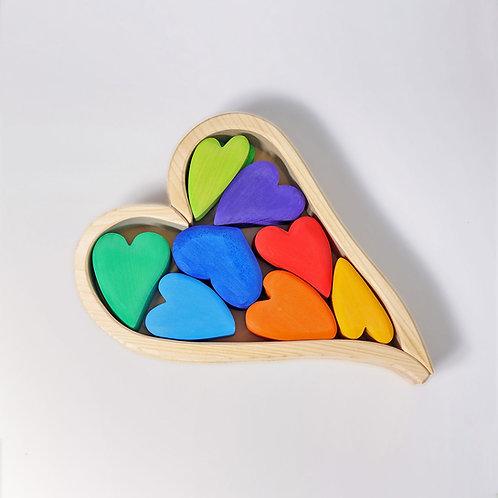Grimms Rainbow Hearts