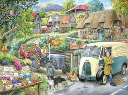 The House of Puzzles - PLUM JAM - 1000 piece Jigsaw