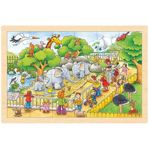 Goki Puzzle, Visit At The Zoo