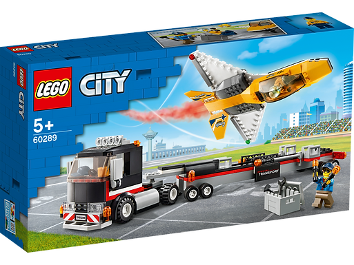 LEGO 60289 Airshow Jet Transporter