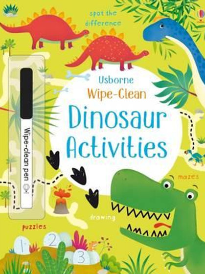 Books - Wipe Clean Dinosaur Activities