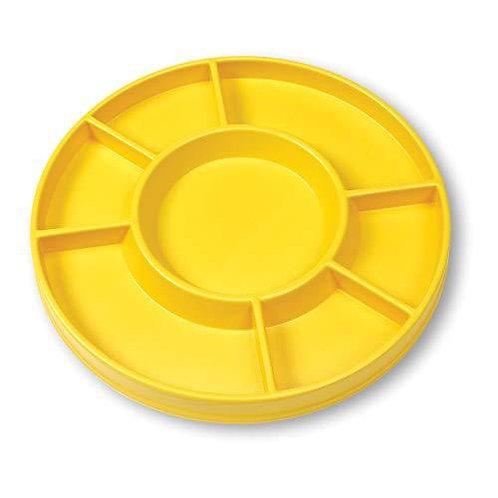 Edx Education Sorting Tray Circular Yellow