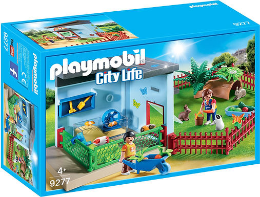 Playmobil 9277 City Life Small Animal Boarding