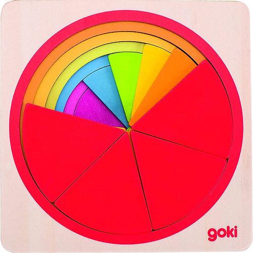 Goki Puzzle Circle (21 Pieces)