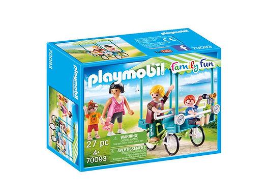 Playmobil 70093 Family Fun Campsite Bike Ride