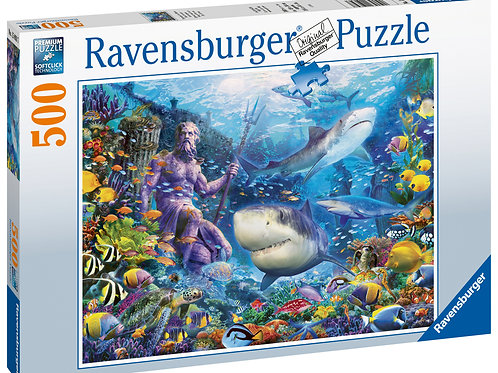 Ravensburger King of the Sea, 500pc Jigsaw Puzzle