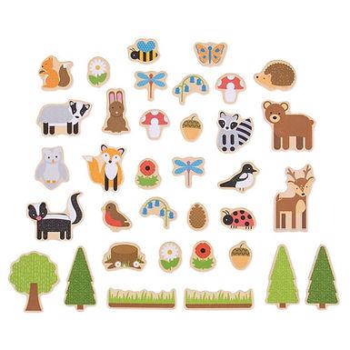 BigJigs Woodland Magnets