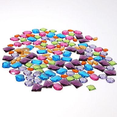 Grimms 140 Giant Acrylic Glitter Stones