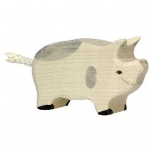 Holztiger Piglet, Dappled