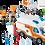 Thumbnail: Playmobil 70049 Ambulance with Flashing Lights