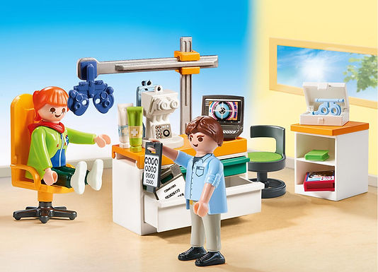 Playmobil 70197 Optician