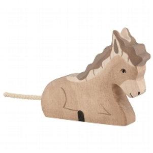 Holztiger Donkey, Lying