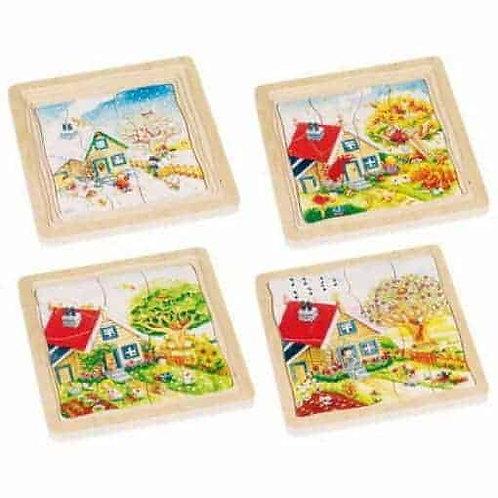 Goki Puzzle Seasons