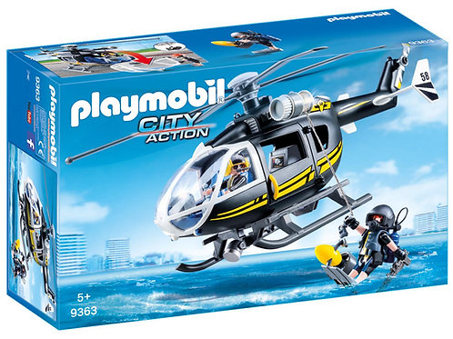 Playmobil 9363 City Action SWAT Helicopter