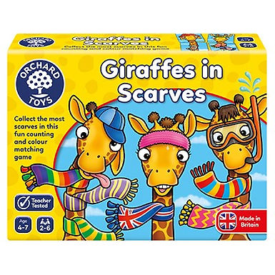 Orchard Toys -  Giraffes in Scarves Game