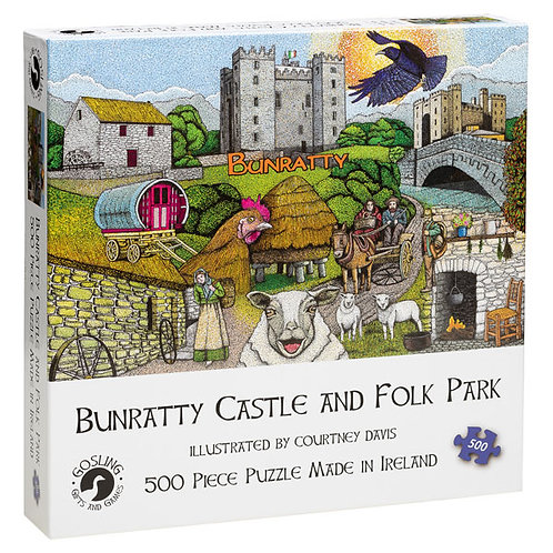 Gosling Games Bunratty Castle and Folk Park 500 Piece Puzzle