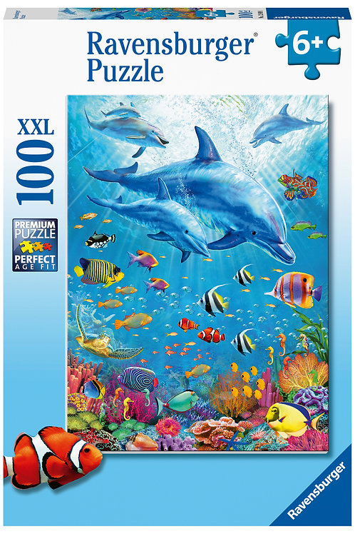 Ravensburger Pod of Dolphins XXL 100pc  Jigsaw Puzzle