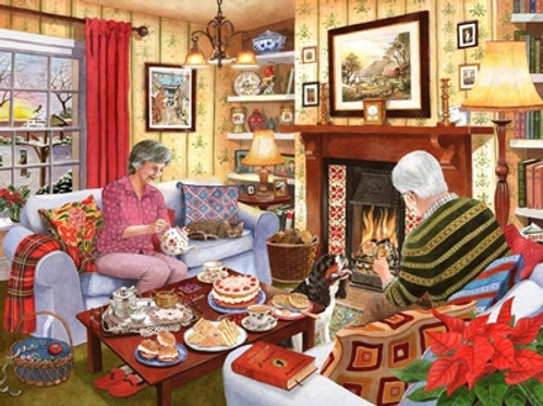 The House of Puzzles - Tea for Two - 1000 piece Jigsaw