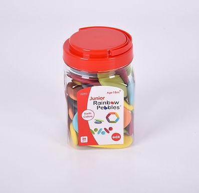 Edx Education Junior Rainbow Pebbles Earth