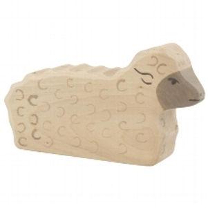 Holztiger Sheep, Lying