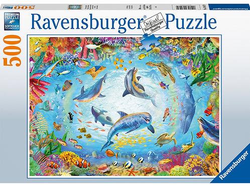 Ravensburger Cave Dive, 500pc Jigsaw Puzzle
