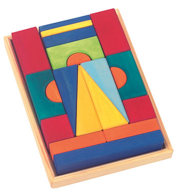 Gluckskafer 20 Piece Small Toskana Blocks