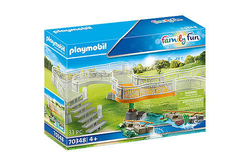 Playmobil 70348 Family Fun Zoo Viewing Platform Extension