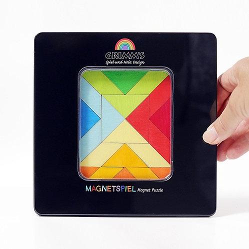 Grimms Magnet Puzzle Square Indian