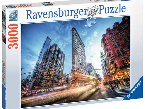 Ravensburger Flat Iron Building, New York, 3000pc Jigsaw Puzzle
