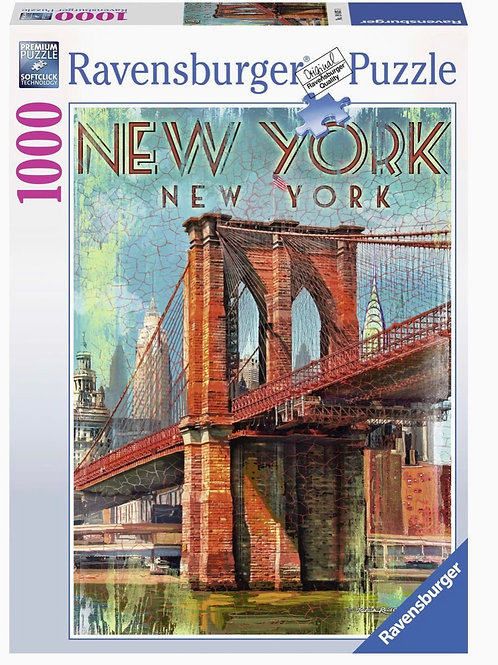 Ravensburger 1000 Retro New York