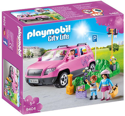 Playmobil 9404 City Life Family Car
