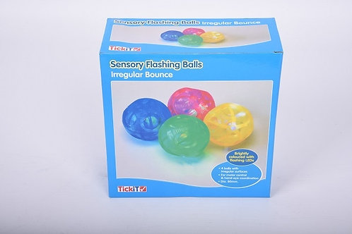 TickiT Sensory Flashing Balls Irregular