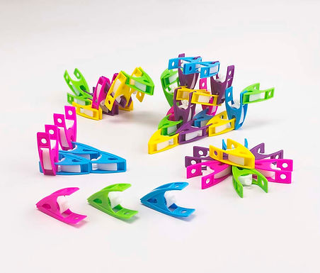 Edx Education Small Pegs 5 Assorted Colours