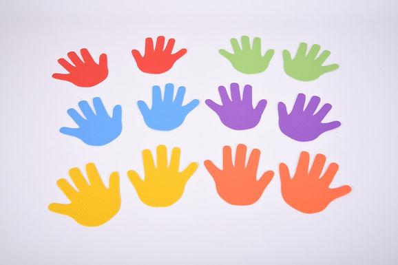 Edx Education Hand Marks Set Of 6 Pairs
