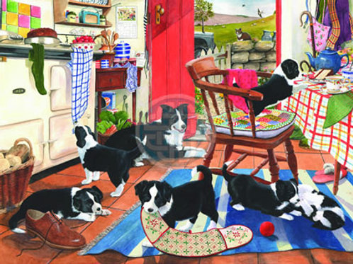 The House of Puzzles - MUMS HELPERS  - Big 500 piece Jigsaw