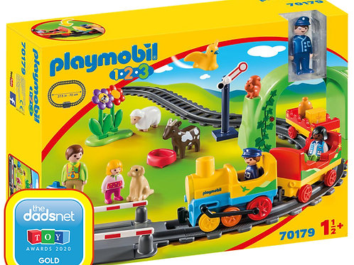 Playmobil 70179 1.2.3 My First Train Set