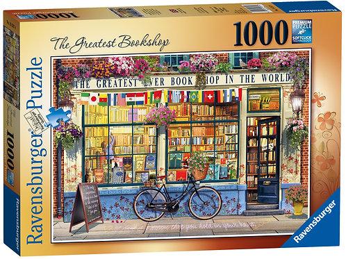 Ravensburger The Greatest Bookshop, 1000pc Jigsaw Puzzle
