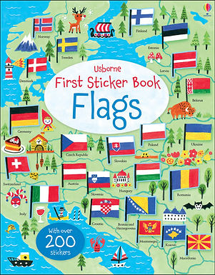 Books - First Sticker Book Flags
