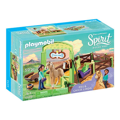 Playmobil DreamWorks Spirit 9479 Pru and Chica Linda