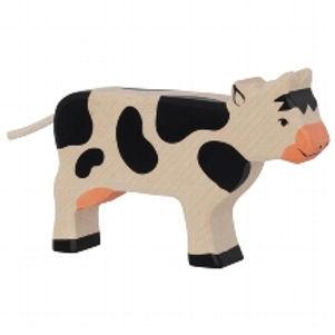 Holztiger Cow,Standing,Black