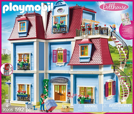 Playmobil 70205 Large Dollhouse with Doorbell