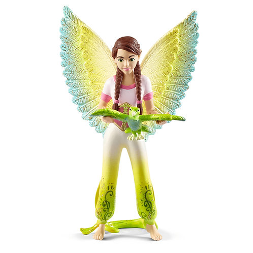 Schleich Movie Surah With Parrot Kuack
