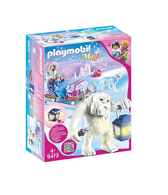Playmobil 9473 Magic Yeti with Sleigh