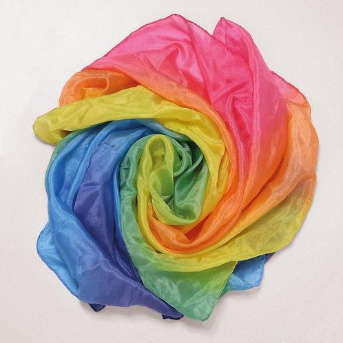 Sarah's Silks Playing Silk Rainbow