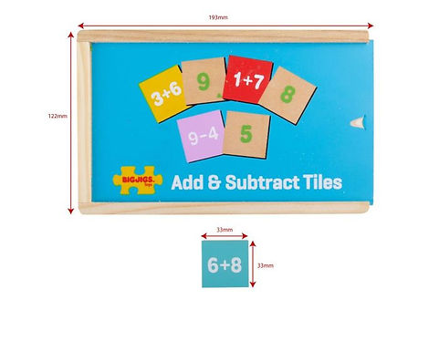 BigJigs Add & Subtract Box
