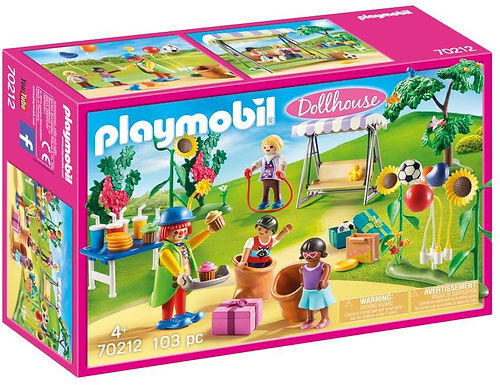 Playmobil 70212 Dollhouse Children's Garden Birthday Party